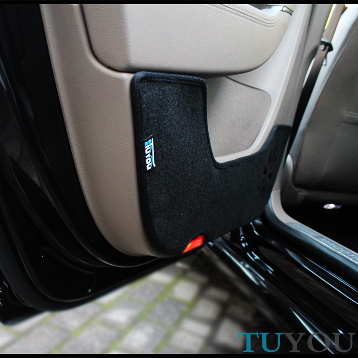 Vw door steps leaps refires door protection pad heat insulation pad(China (Mainland))