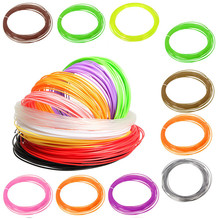 10m 1.75mm PLA Matericl Filament For 3D Printer Accessories 12 Colors Candy Bright Colours Durable Solid Quality Office Supplies
