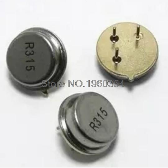 315 MHZ acoustic table R315A TO39 3 feet 315 m round crystals(50pcs/lot)(China (Mainland))