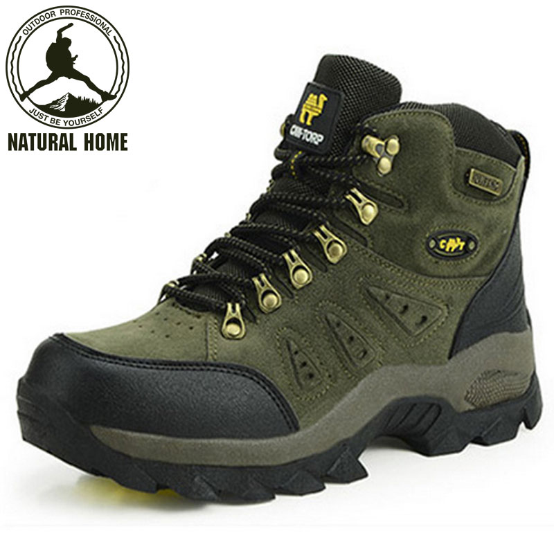 [NaturalHome] Brand Outdoor Tactical Waterproof Men Hiking Shoes Boot Outdoors Sneakers Trekking Boots Women - Natural Home store