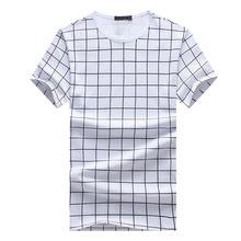 Men's City Fashion Off White O-neck T-Shirt Male 5XL Mailot Usa Soccer Juventus Psg Jersey 2016 2017 Plaid Tee Shirt Men(China (Mainland))