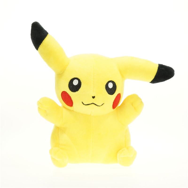 20cm Pikachu Plush Toys High Quality Cute Anime Plush Toys Children's Gift Toy Kids Cartoon Peluche Pikachu Plush Doll(China (Mainland))