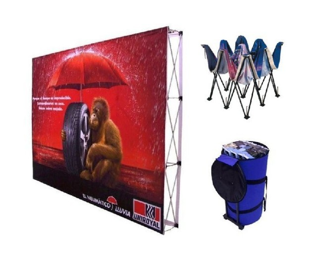 high quality fabric pop up display stand(free shipping)