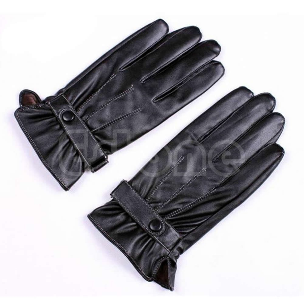Fake leather driving gloves - Getsubject Aeproduct