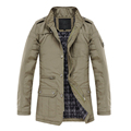 Jacket Coat Slim Clothes Winter Warm Overcoat Casual Outerwear
