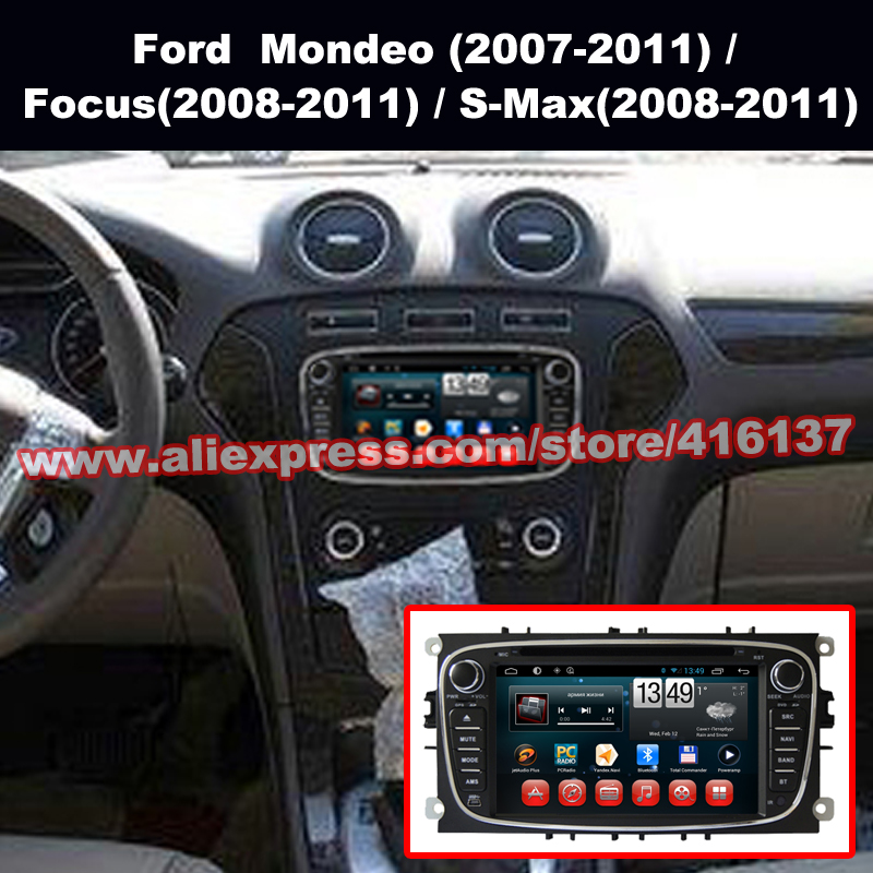 Android4 4 font b Car b font DVD Player for Ford Mondeo Focus Quad Core font