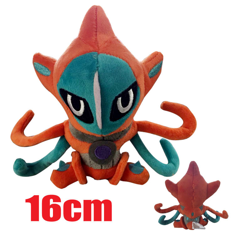 Pokemon XY Plush Peluche Pikachu Fluffy Plush Toys Deoxys 1pcs 16cm Anime Cute Doll Kids Gifts Toys 1100(China (Mainland))
