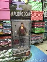 AMC TV Series The Walking Dead Abraham Ford Bungee Walker Rick Grimes The Governor PVC Action Figure Collectible Model Toy(China (Mainland))