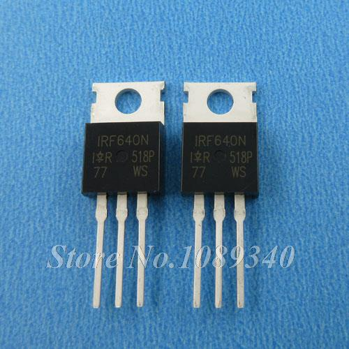 10PCS free shipping IRF640N IRF640 IRF640NPBF 200V 18A TO-220 MOSFET N channel fet 100% new original quality assurance(China (Mainland))