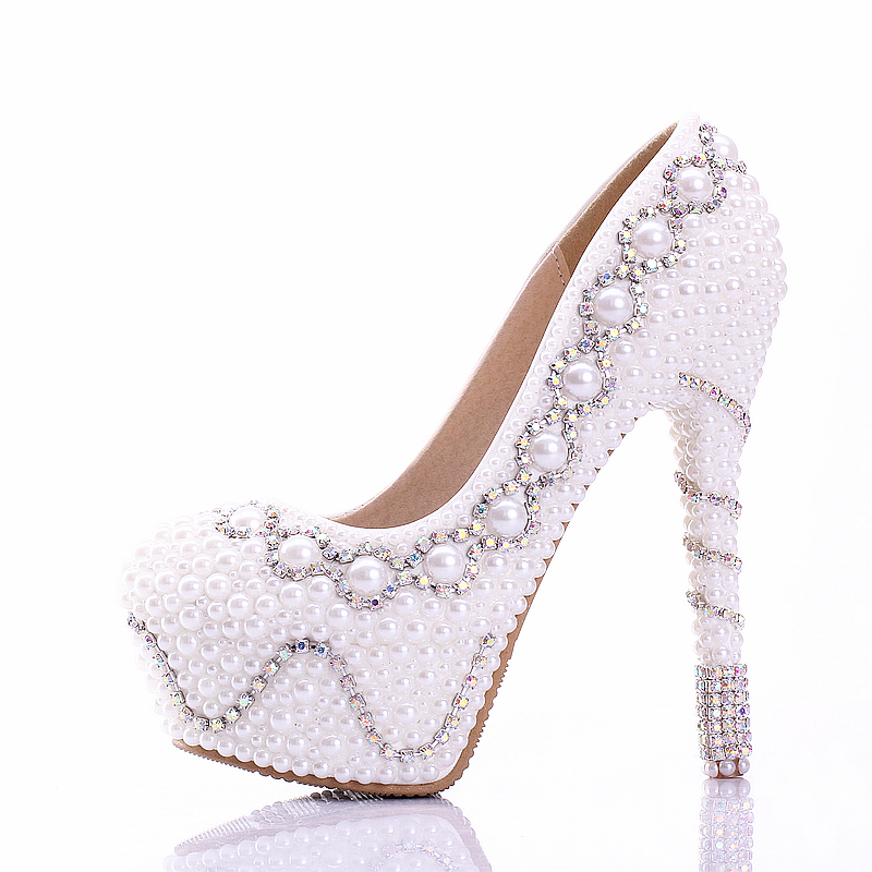 wedding shoes white colorful rhinestone bridal shoes white