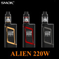 Electronic Cigarette Smok Alien Kit Vape Box Mod for TFV8 Baby Tank 220W Vaporizer elektronik