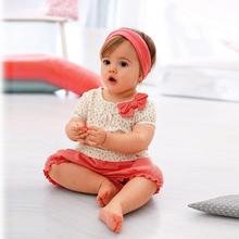 Kids Baby Girls Cherry Clothes Set Dots T shirt Tops Pants 2Pcs Outfits Bow Cotton Clothes