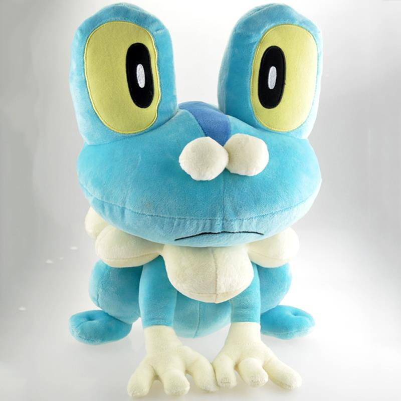 Big Size 41cm Pokemon XY Plush Toy Doll Large Pokemon Froakie Plush Soft Stuffed Frogs Animals Toys Figure Doll Gift for Kids