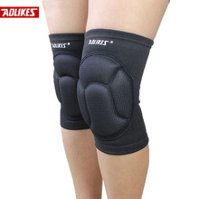 2015 Thickening Football Volleyball Extreme Sports knee pads brace support Protect Cycling Knee Protector Kneepad ginocchiere(China (Mainland))