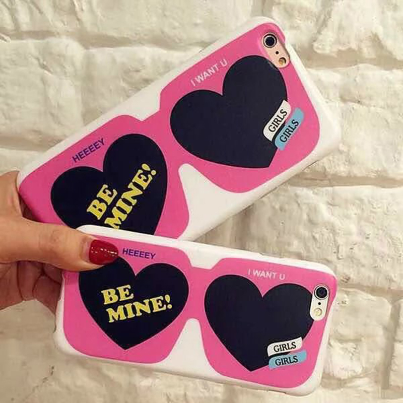 """New Camera Glasses Magnetic Tape Design Phone Case For iPhone6 6s 4.7"""" 6plus 5.5"""" Scrub Soft Protector Back Shell Cover(China (Mainland))"""