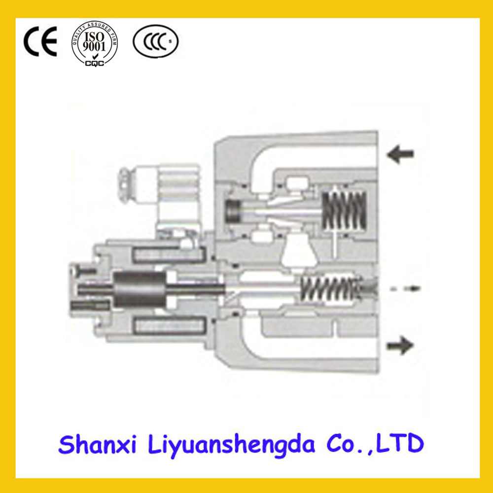 Control Valves Yuken Check Oil Sandwich Pilot Casting Solenoid Hydraulic Proportional Relief Valve(China (Mainland))