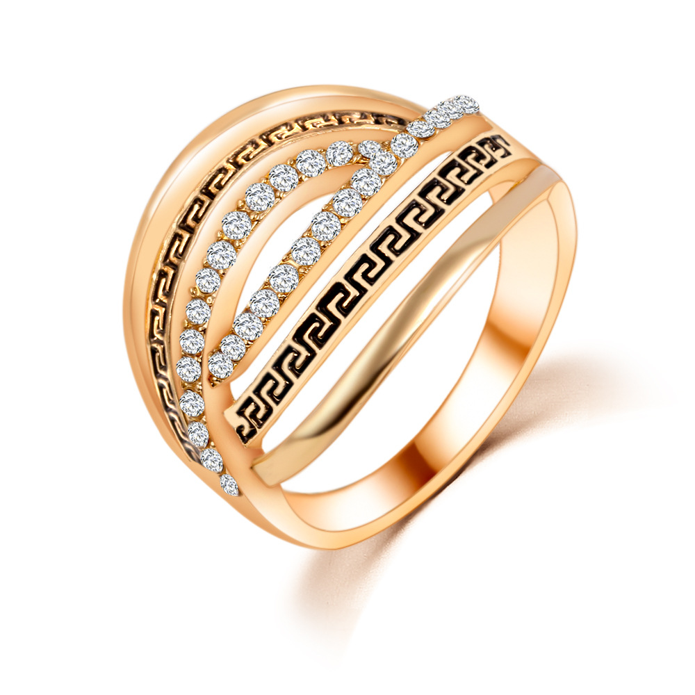 New Desiagn Rings For Women 18K Gold Plated Austria Crystal Ring Size 6 7 8 9 Wedding Ring Vintage Jewelry Factory Price(China (Mainland))