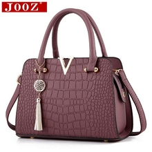 Buy Fashion Alligator leather women handbags famous designer brand bags Luxury Ladies Hand Bags Purses Messenger shoulder bags for $18.79 in AliExpress store