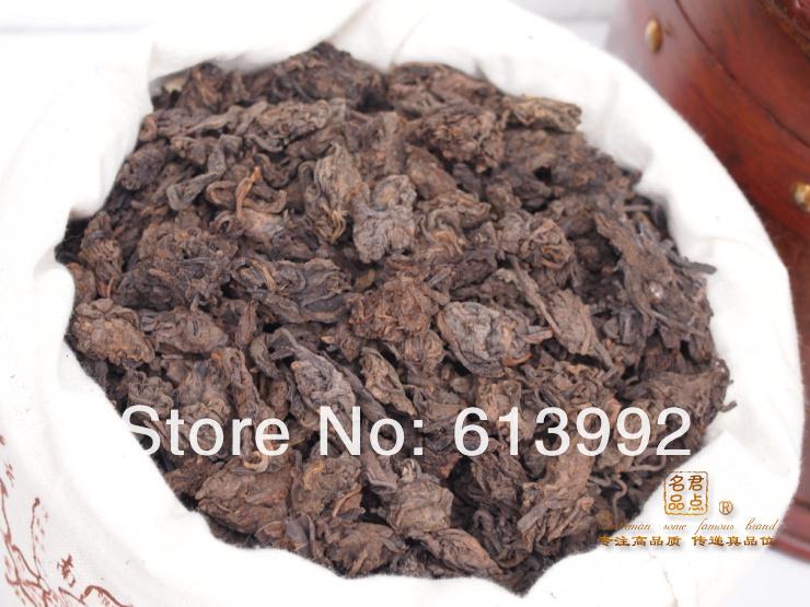 1000Г мягкий вкус,старый год Мэнхай LaoCha Тоу,жидкий чай пуэр, спелые пуэр чай,