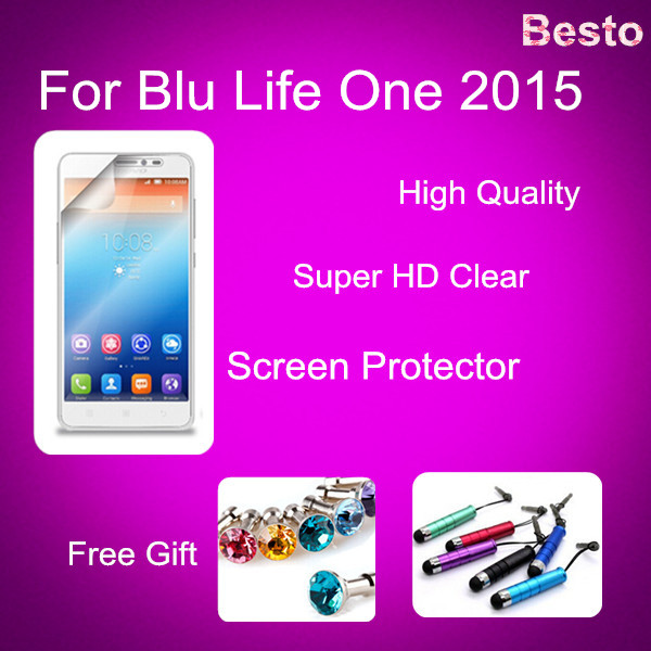 Screen protector for Blu Life One 2015 screen protector 100% Brand New China Factory From China 20150928(China (Mainland))