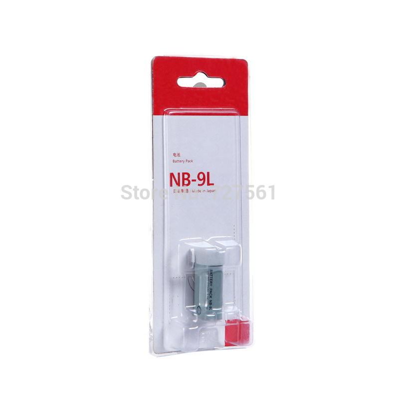 NB-9L NB 9L NB9L Digital Camera Battery for Canon IXUS 1000 1100 500 HS IXUS1000 IXUS1100 1000HS 1100HS 500HS 510HS Batteries(China (Mainland))
