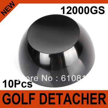 10Pcs Black Golf Detacher Super Magnetic Force 12000GS Hard Detacher Eas System The Security Tag Remover