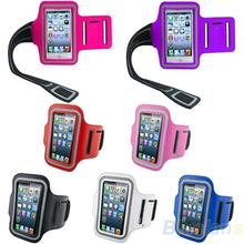 Waterproof Sports Running Case Workout  Holder Pounch For iphone 5 5G Cell Mobile Phone Arm Bag Band 01KB 3ACE(China (Mainland))