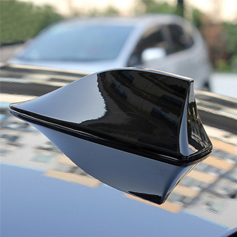Car Antenna Car Radio Fin Antenna Signal Shark Fin antenna Radio FM Signal Aerial For BMW VW Toyota(China (Mainland))