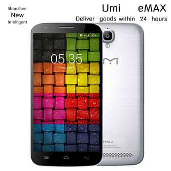"""Бесплатный подарок UMI EMAX 5.5 """" FHD MTK6752 Octa ядро сотовый телефон 4 г LTE android 4.4 OS 2 ГБ Ram 16 ГБ Rom 13mp камера две сим-карты WCDMA 3 г GPS"""