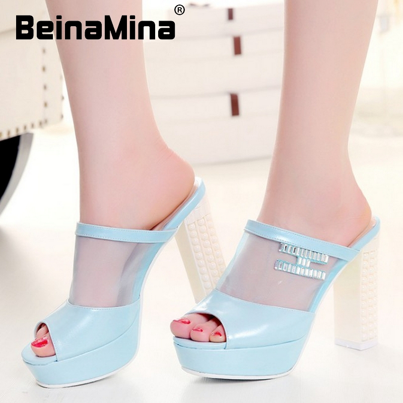 women bohemia slippers platform summer high heel sandals lace sexy fashion ladies heeled footwear heels shoes size 32-44 P18397<br><br>Aliexpress