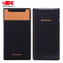 Original Lenovo A588T Flip Mobile Phone Android 4.4 MTK6582 Quad Core 512MB RAM 4GB ROM Dual Sim 4″ Touch Screen 5.0MP Camera