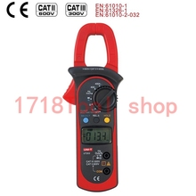 Free Shipping UNI-T UT203 UT 204 Digital Clamp Multimeter Ohm DMM DC AC Current Voltmeter 400A