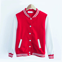 2016 Women New Autumn Winter Solid Color Cotton Stand Collar Fleece Jacket Pockets Button Coat Hoodies Men Sport Sweatshirts(China (Mainland))