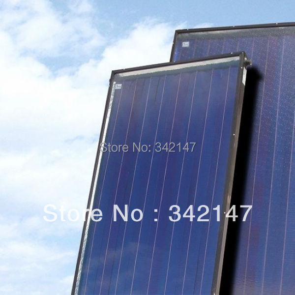 2000x1000x 80 mm flat plate solar collector manufacturer in China with SRCC Solar Keymark CE CCC ISO(China (Mainland))