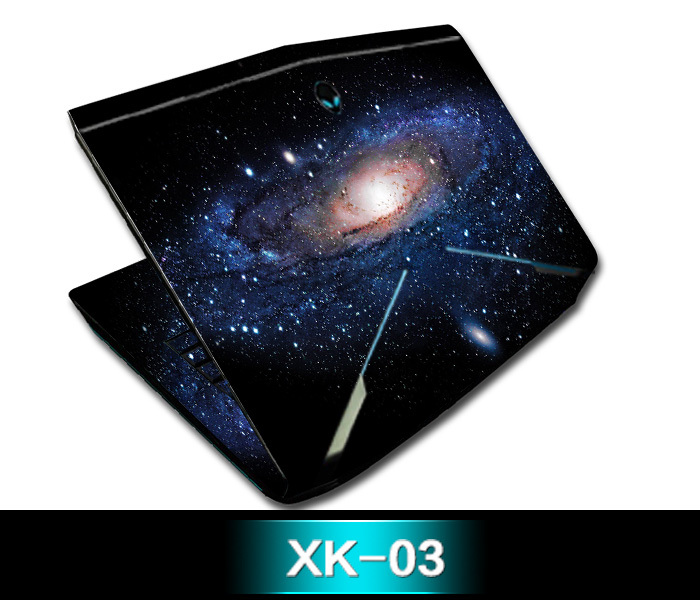 KH Special Laptop Star Glitter Sticker Skin Cover Guard Protector For DELL Alienware 18 M18x R3