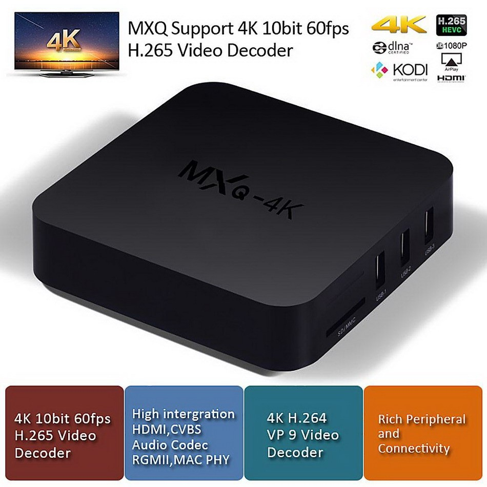 Tronsmart MXQ-4K RK3229 Smart Android TV Box 202098 3