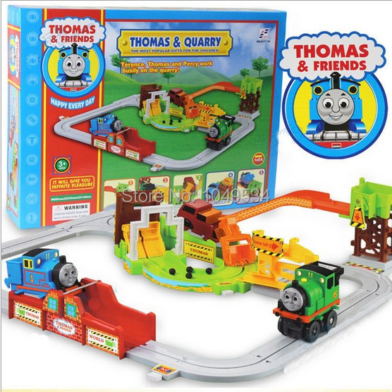 tomas and friend electrical train railway blocks thomas auto locomotive kid toy gift set child. Black Bedroom Furniture Sets. Home Design Ideas