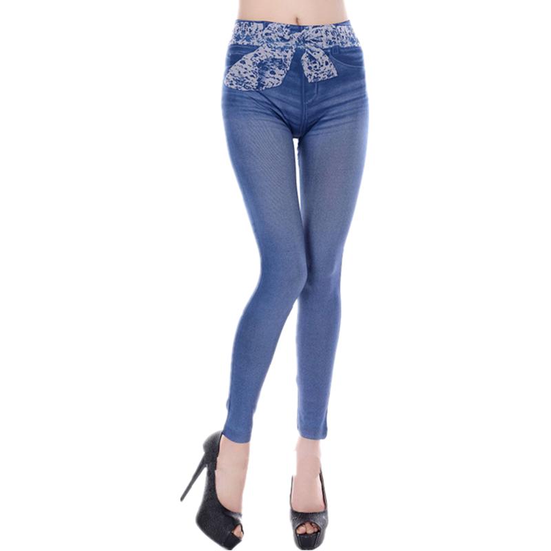 Popular Plus Size Blue Jean Leggings-Buy Cheap Plus Size Blue Jean