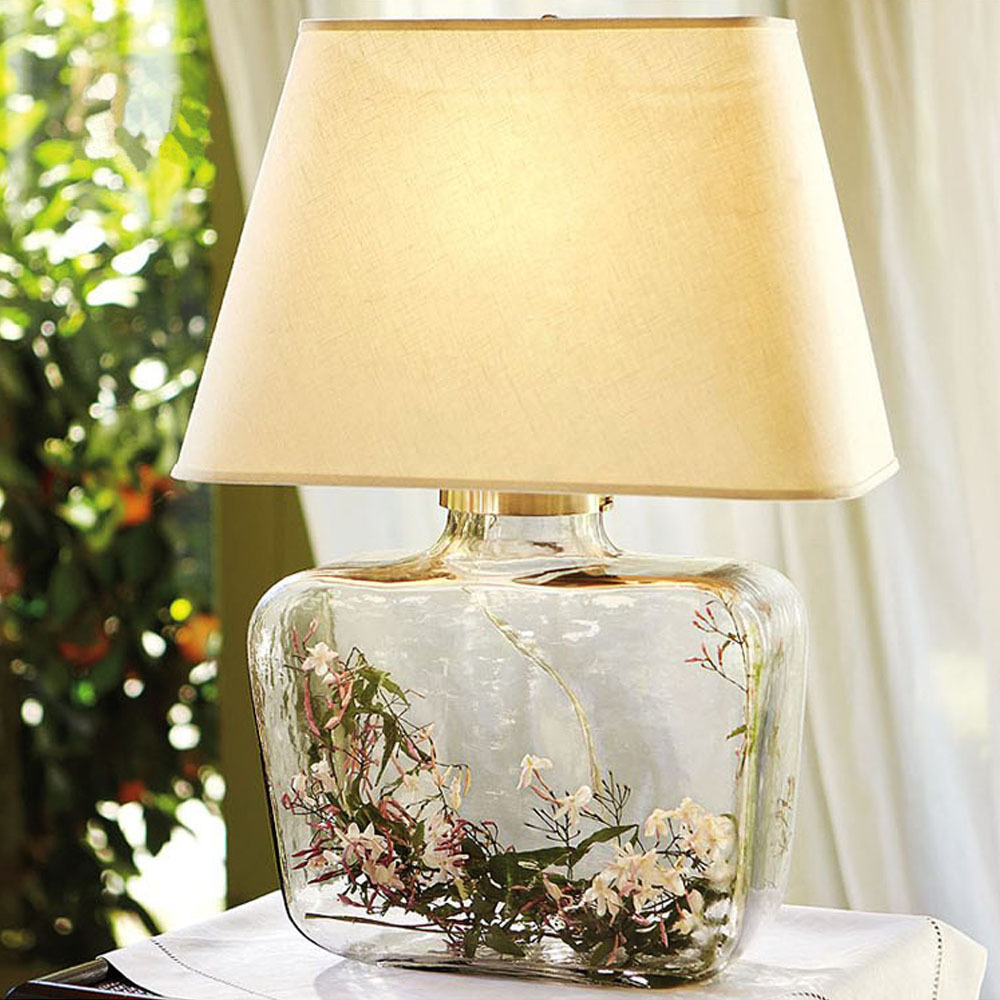 glass stand romantic table lamp especially girls bedroom bedside. Black Bedroom Furniture Sets. Home Design Ideas