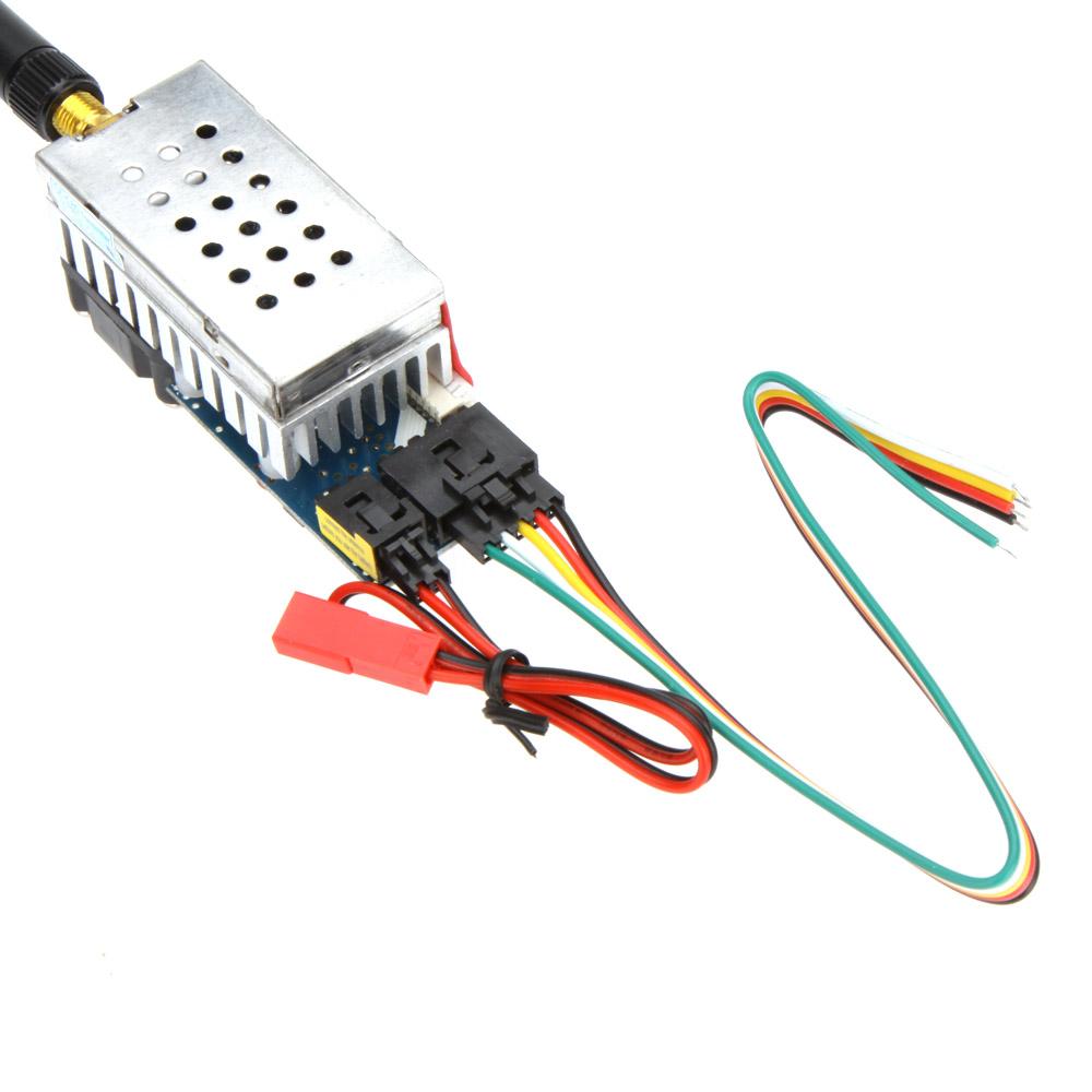 FPV Wireless Transmitter TS582000 5.8G 2000MW 8 Channels Video AV Audio Sender for FPV Wireless Remote Control Aircraft Car(China (Mainland))