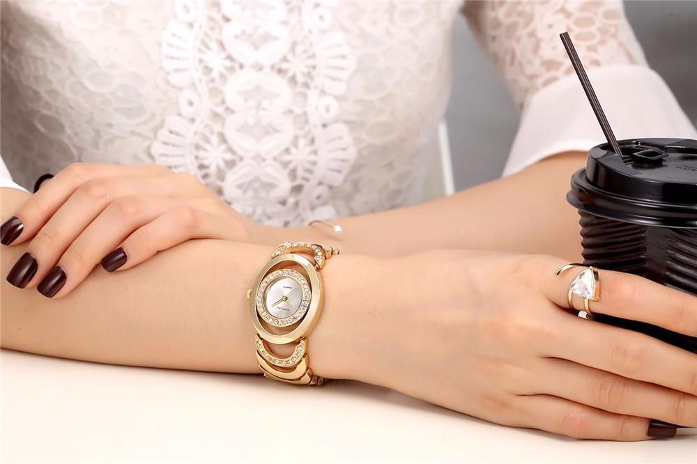 Luxury Waterproof Crystal Women Bracelet Watches Lady Fashion Dress Watch Quartz Clock Woman relogio feminino reloj mujer gift