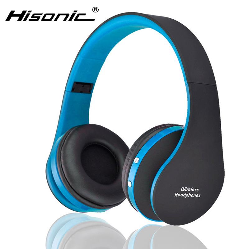 Hisonic Bluetooth Headset Wireless Headphones Stereo Foldable Sport Earphone Microphone headset bluetooth earphone SUN8252(China (Mainland))