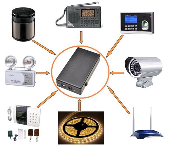 Hot sales!! backup power lithium , mini ups battery, dc ups wifi route UPS-12V-1A mini UPS Specification sheet(China (Mainland))