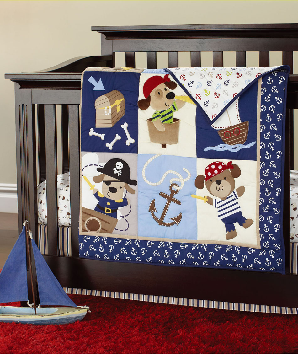 New 7 pcs baby bedding set baby boy crib bedding set cartoon animal baby crib set Quilt Bumper Sheet Skirt(China (Mainland))