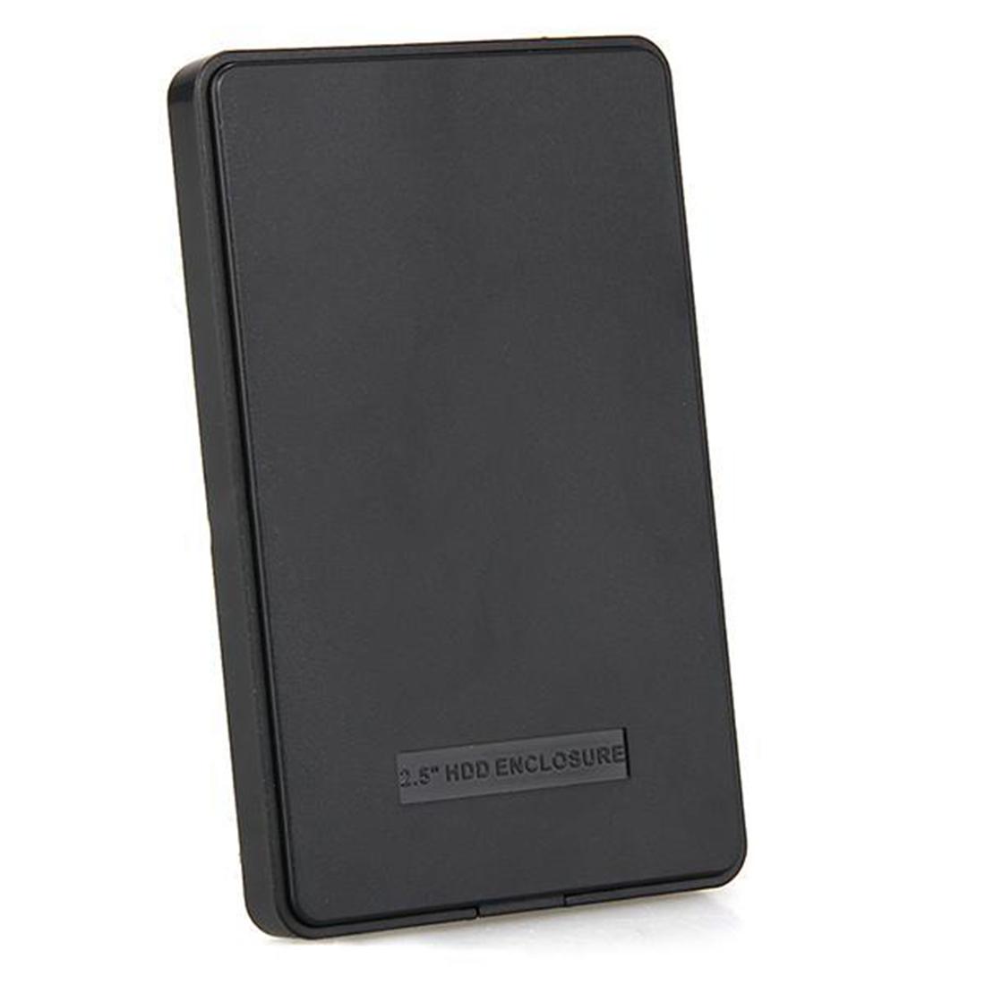 New arrive black external enclosure for hard disk 2 5inch - Porta hard disk sata ...
