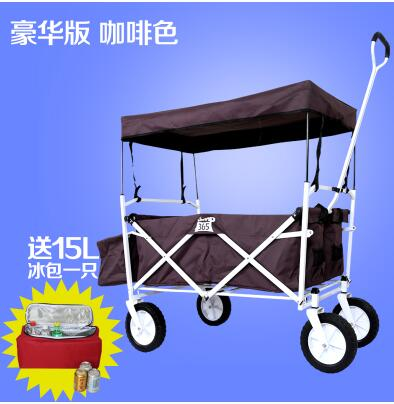 Yue Yuen cart luggage cart outdoor camping trailer drivers pulling rod climbing stairs folding shopping carts(China (Mainland))