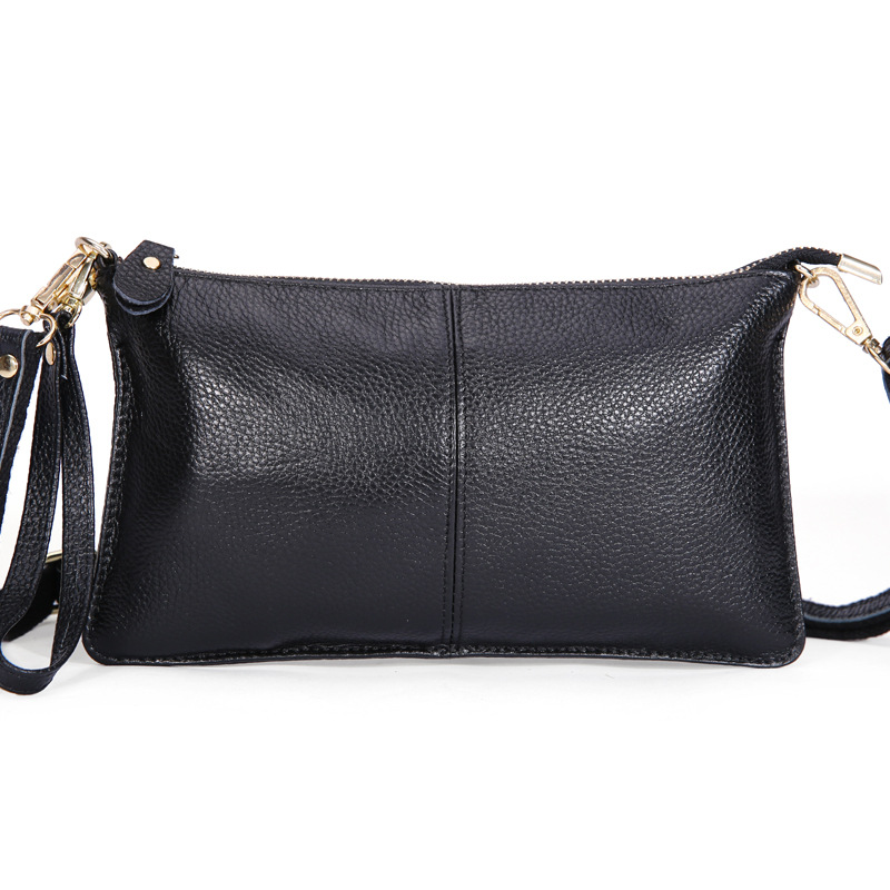 2015 New Fashion 100% Genuine Leather Envelope Clutch Designer Handbags High Quality Crossbody Womens Female Clutch Evening Bags