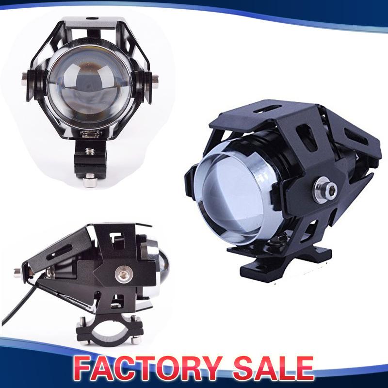 CREE U5 Motorcycle LED Headlight Waterproof High Power Spot Light 15W Dirt Bike Dual Sport Enduro Car ATV Truck Boat(China (Mainland))