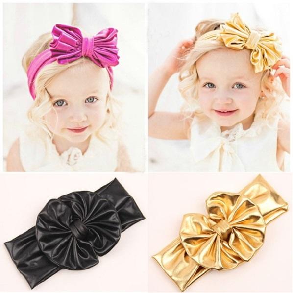 Girl bow headband Pretty baby multicolor headwear Fashion party hair accessories Children hairband Summer design 1 pcs HB384(China (Mainland))