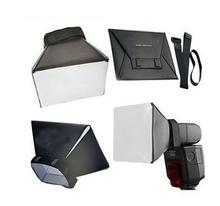 100% New Camera & Photo Professinal Foldable Flash Diffuser Softbox for Canon Nikon Sony Pentax Vivitar Hgih Quanlity Wholesale
